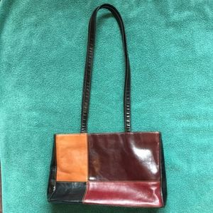 PONTE VECCHIO 'Firenze' Leather Purse *FLAWED*
